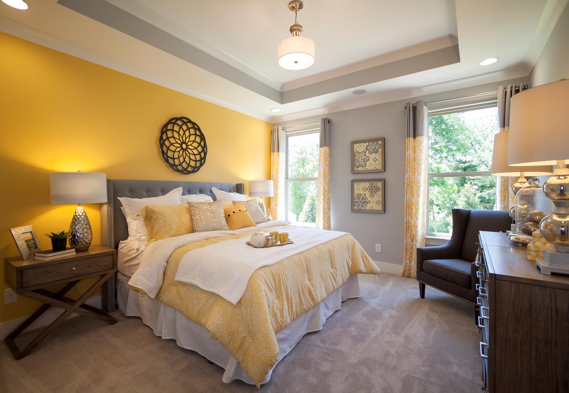 Желтые стены серый пол фото вопрос часто